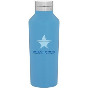16.9oz H2go Manhattan Bottle (Matte Aqua)