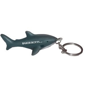 Shark Stress Reliever Keychain