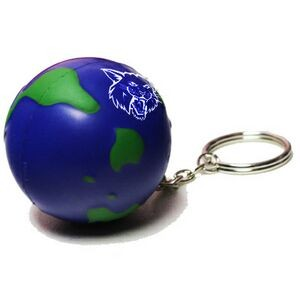 Earth Stress Reliever Keychain