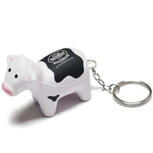 Cow Stress Reliever Keychain